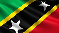 saint-kitts-nevis-flag-with-waving-fabri