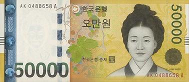 Korean Republic won (₩) (KRW)