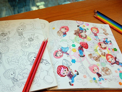 COLORING BOOK EXO A Day In EXOPlanet