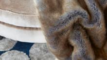 Plaid esclusivi in pelliccia ecologica
