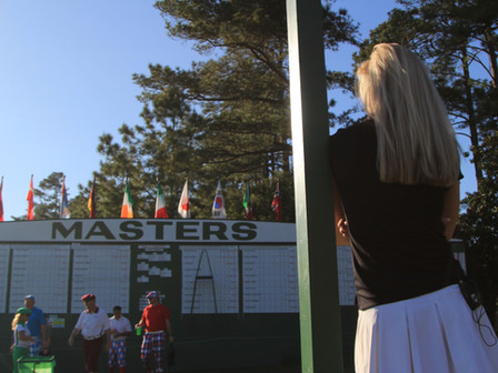 A day as a Patron at The Masters with Iona