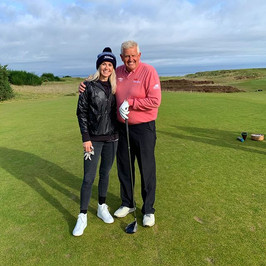 What a day for it @kingsbarnsgolflinks w