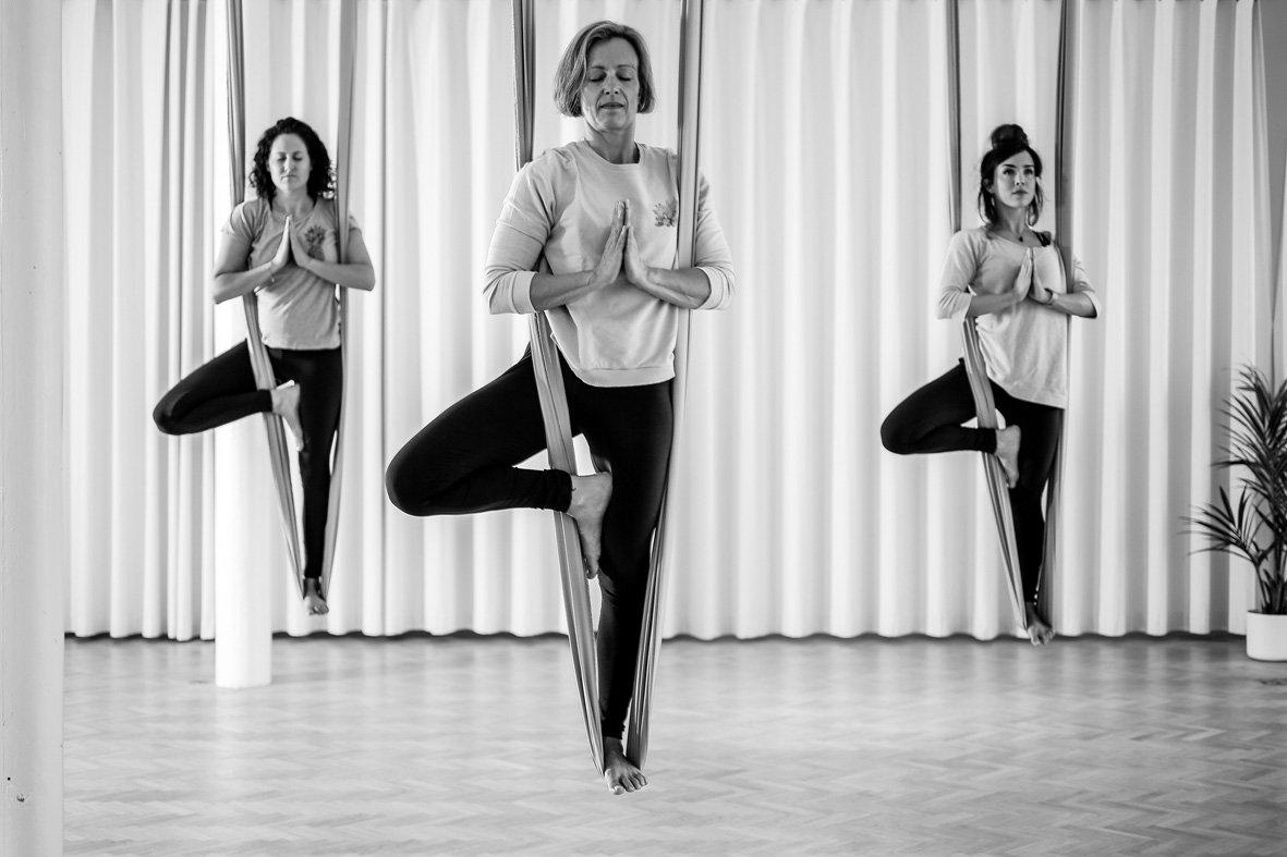 Aerial Yoga @VanTrier - weekly classes