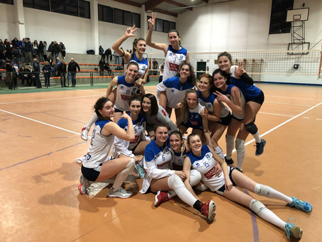 Tie break vincente per la Serie B2 contro Lemen Volley