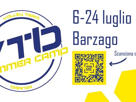 Torna il VTB Summer Camp!!