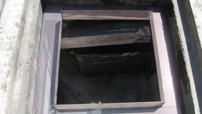 Containment basket for storm water management