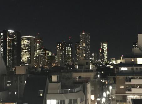 東中野の夜