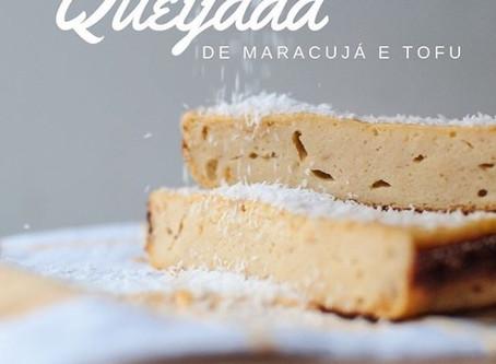RECEITA // Queijada de Maracujá e Tofu