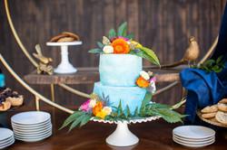 Canna Infuse Wedding Cake