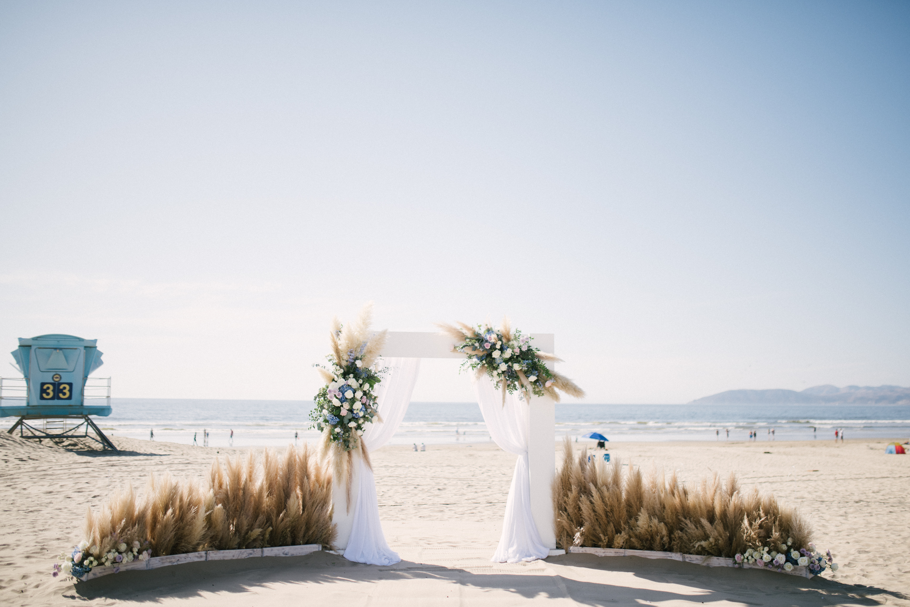 Le Festin Events Beach Wedding