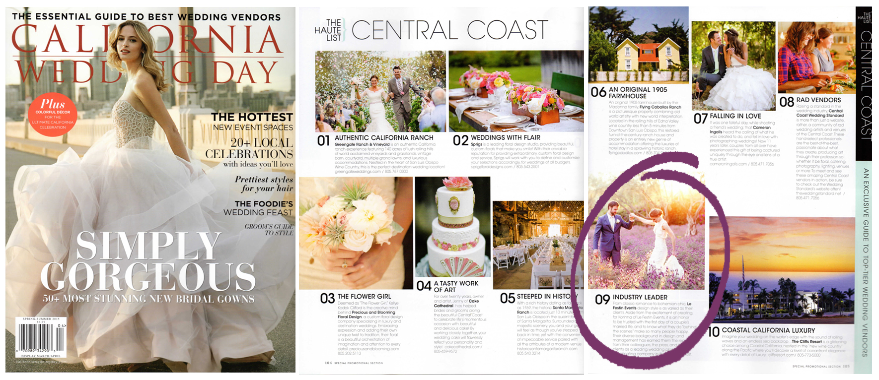 CALIFORNIA WEDDING DAY MAGAZINE