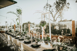 Modern, Ikebana Tablescape
