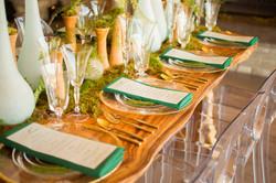 Natural Organic Wedding Table
