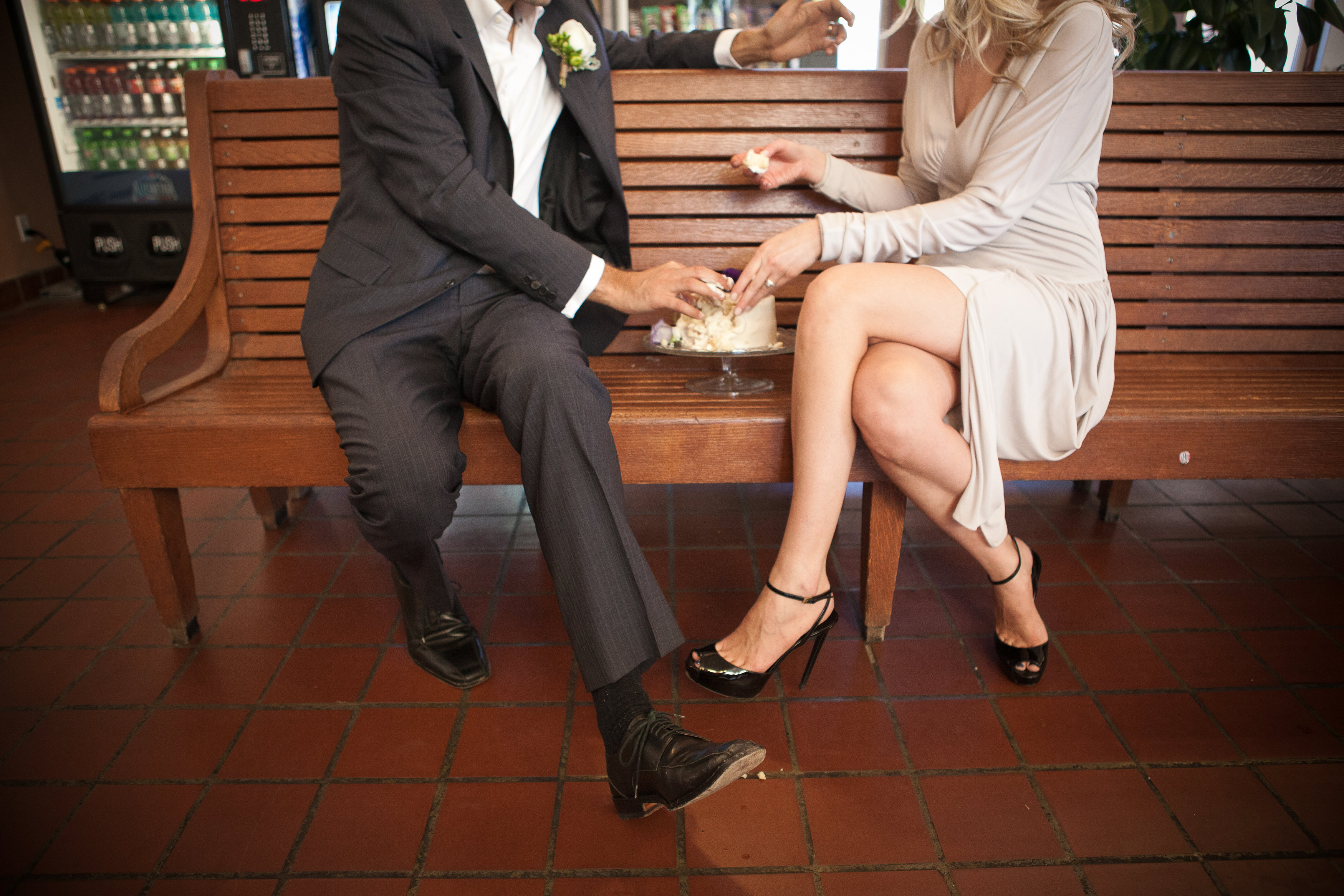 Train Station Wedding