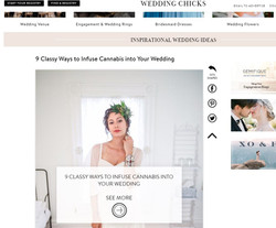 9 Ways to Canna Infuse Your Wedding