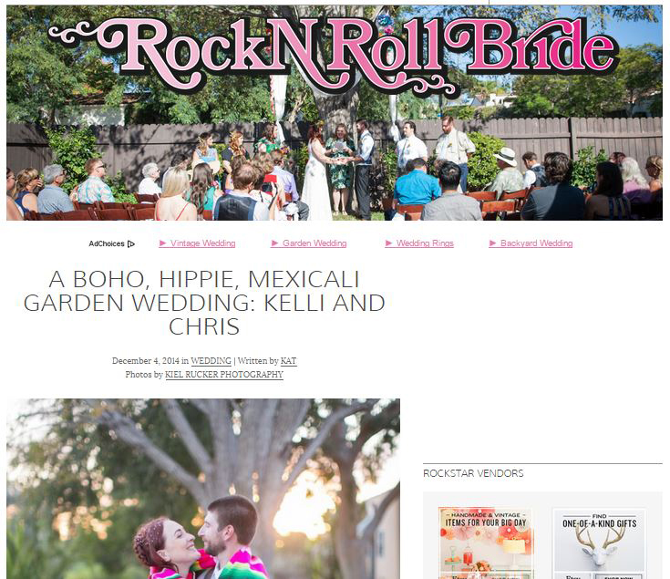 ROCK N' ROLL BRIDE BLOG & MAGAZINE