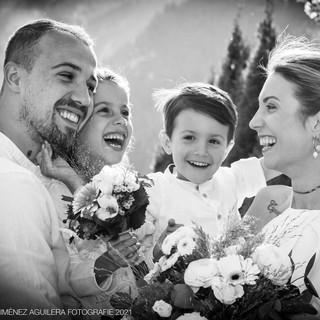 Brautpaar Familienfotosho