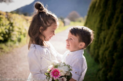 Brautpaarfotoshooting mit Kindern