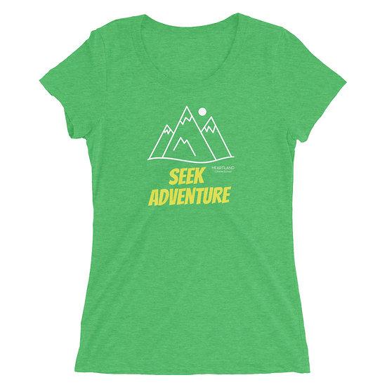 Ladies' Super Soft T-shirt - Seek Adventure