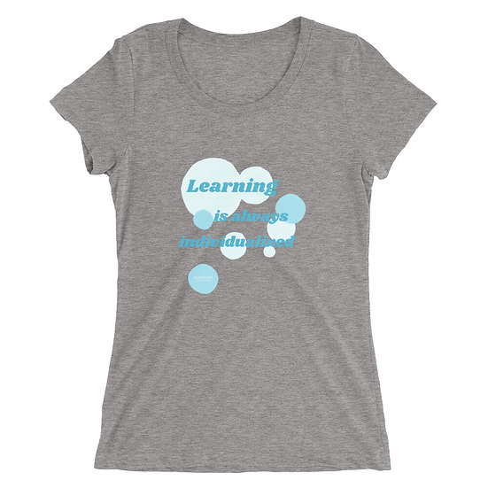 Ladies' Super Soft T-shirt - Learning Individualized