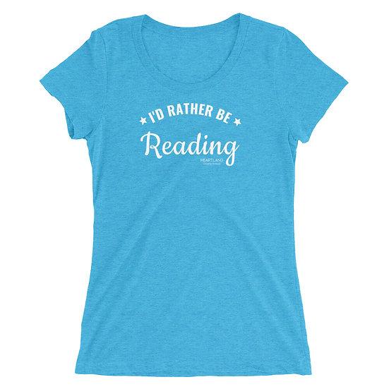 Ladies' Super Soft T-shirt - Reading