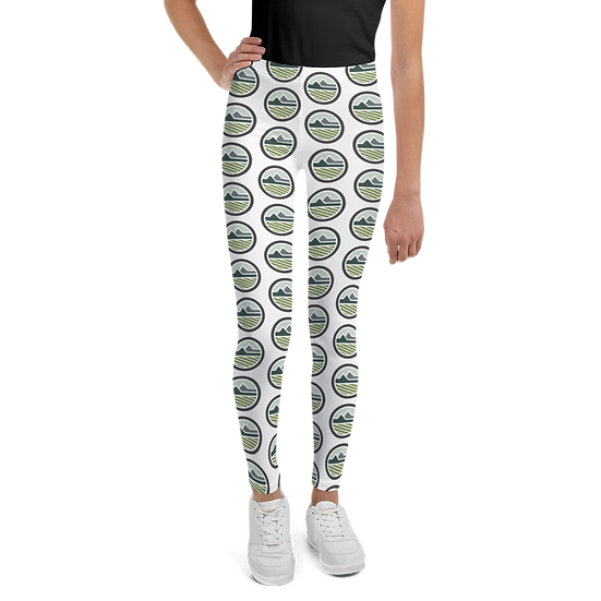Youth Leggings - White