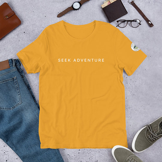 Unisex Cotton T-Shirt - Seek Adventure 2
