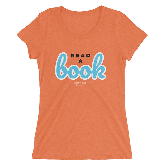 Ladies' Super Soft T-shirt - Read a Book