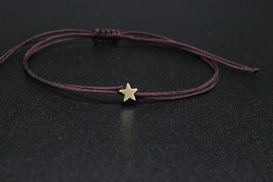 Kordel Winziger Stern Armband/Fußkette