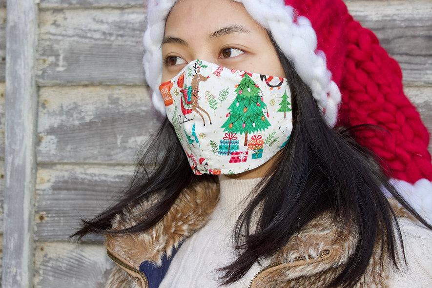 Kinder Weihnachten Maske- hannisch
