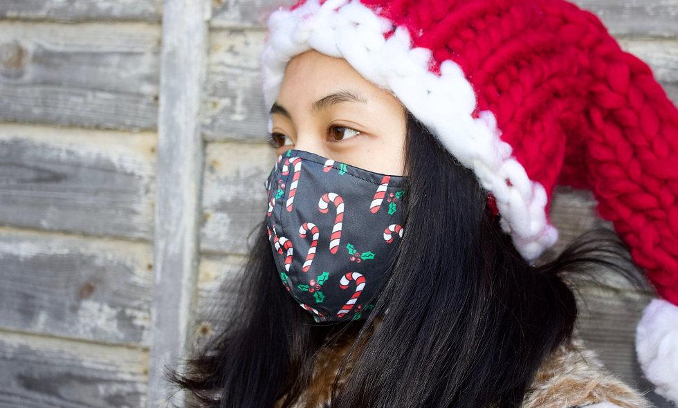 Zuckerstangen Baumwolle Maske- hannisch