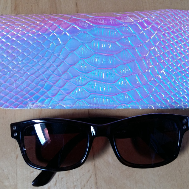 Pink Snake Holographic Case