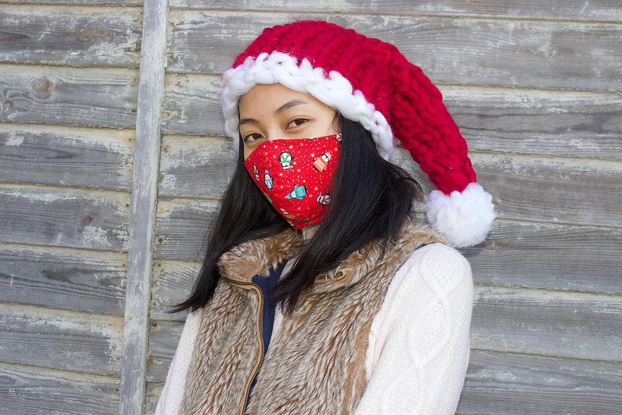 Weihnachtspinguine Maske- hannisch