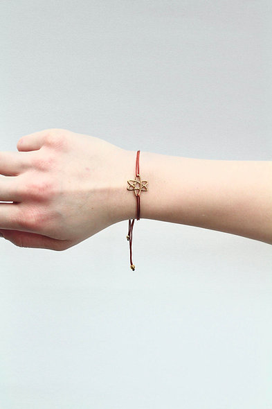 Kordel Elektronen Armband/Fußkette