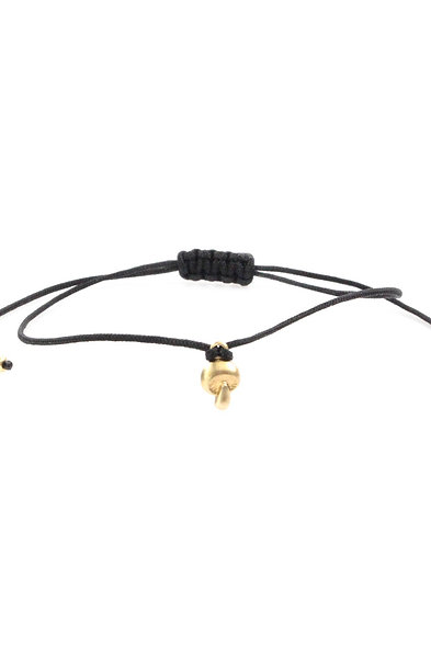 Kordel Pilz Bead Armband/Fußkette
