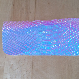Pink Snake Holographic Case