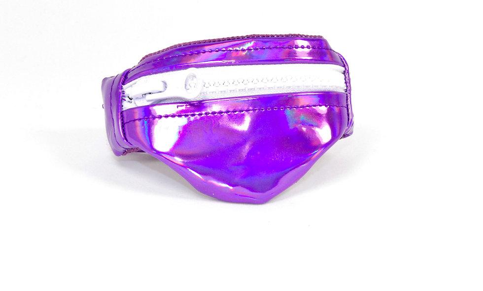 Gelenktasche  Holographisch Lila Gelenk Tasche - hannisch