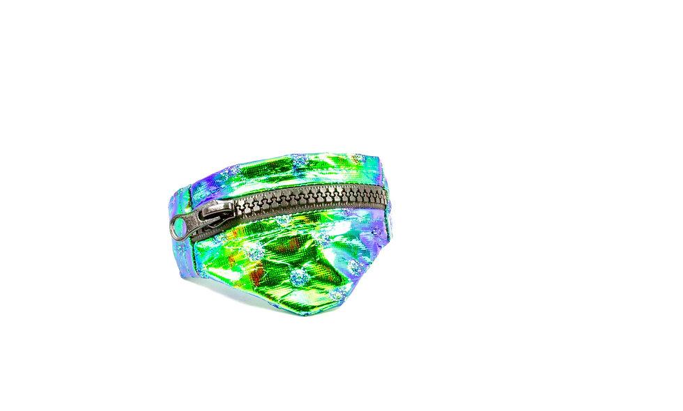 Gelenktasche  Holo Folie Mermaid Geprägt Gelenk Tasche - hannisch