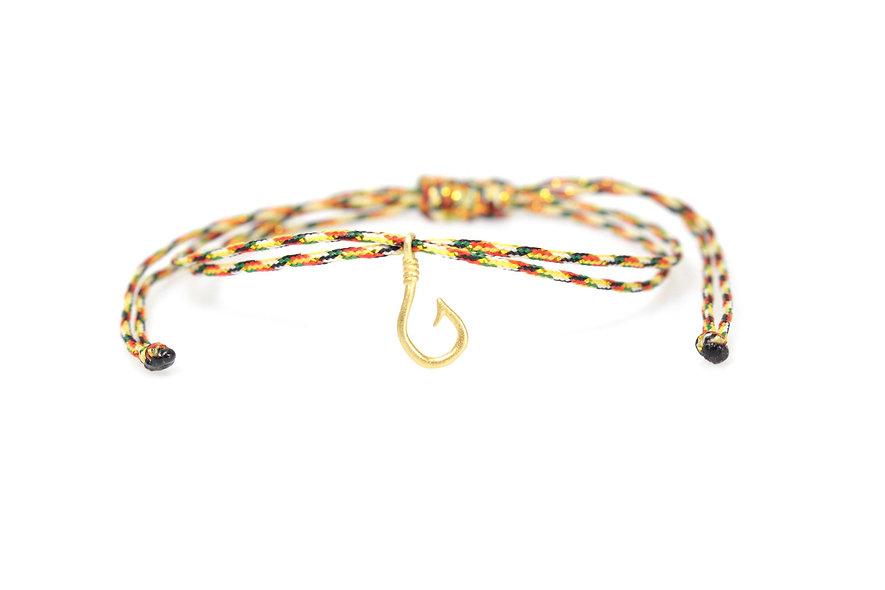 Kordel 22k Vergoldeter Haken Armband/Fußkette