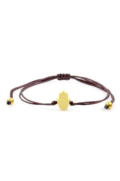 Kordel Kleine Hand Gold Perlen Armband/Fußkette