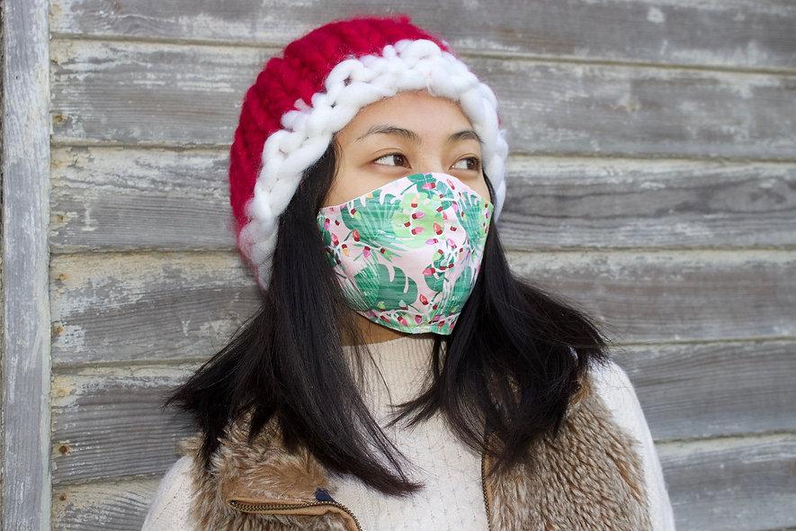 Tropical Baumwolle Maske- hannisch