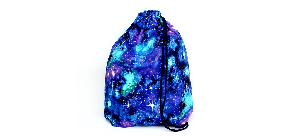 Lila Türkise Galaxy Gym Bag - hannisch