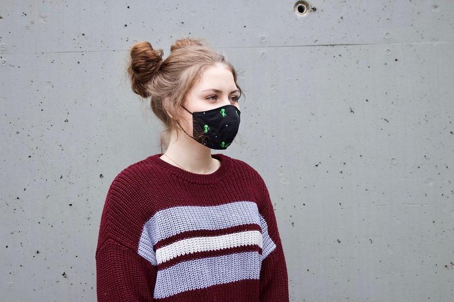 Alien Baumwolle Maske- hannisch