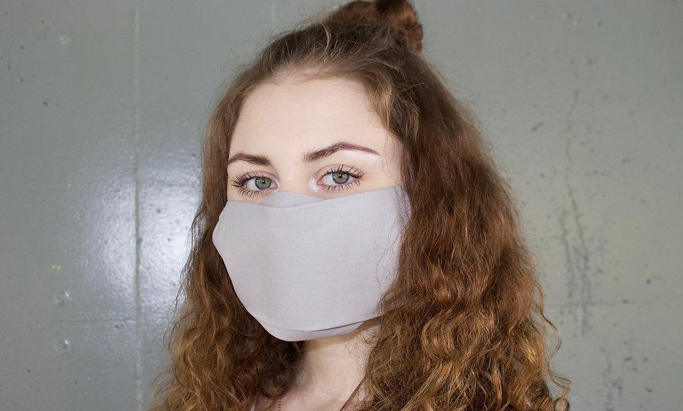 Hell Grau Baumwolle Flap Maske- hannisch
