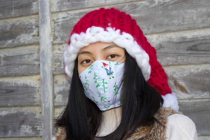 Wichtel Christmas Baumwolle Maske- hannisch