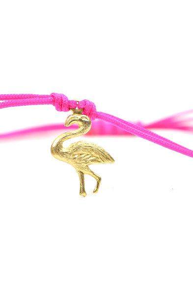 Kordel Flamigo Gold  Armband/Fußkette