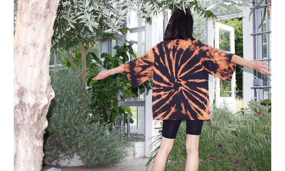 Unisex Oversized Shirt Chlor Batik - hannisch
