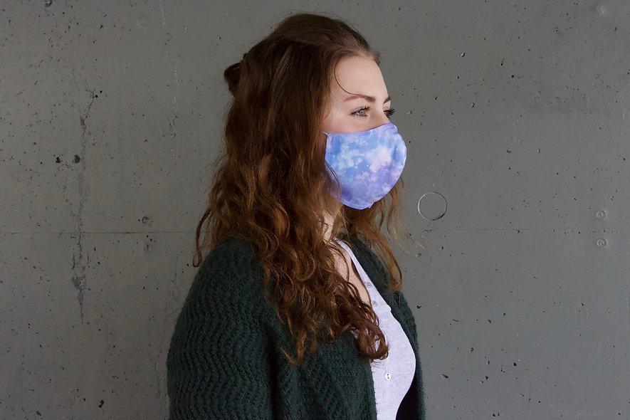 Galaxy Pastell Baumwolle Maske- hannisch