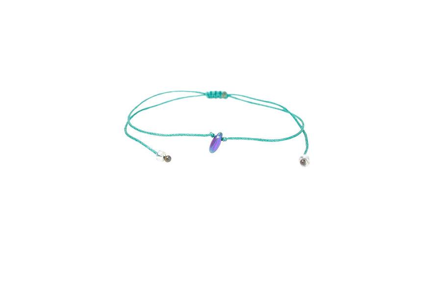 Mermaid Träne Kordel Armband/Fußkette