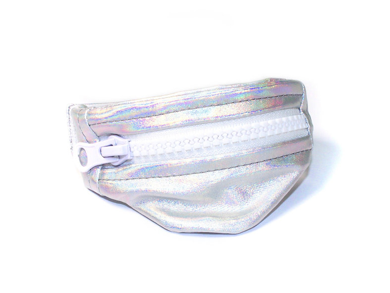 Gelenktasche  Holo Stoff Gelenk Tasche - hannisch